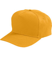 Custom Augusta Youth Five-Panel Cotton Twill Cap