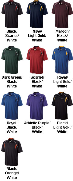 Adult Vengeance Polo by Holloway USA - All Colors