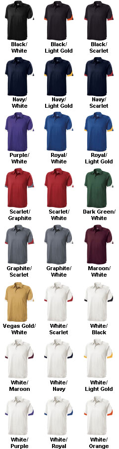 Mens Ambition Coaches Polo by Holloway USA - All Colors