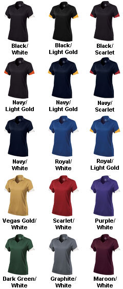 Ladies Ambition Coaches Polo by Holloway USA - All Colors
