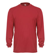 Custom Badger Mens B-Tech Long Sleeve Tee
