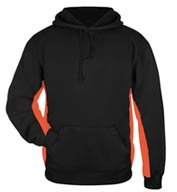 Custom Badger Mens Performance Fleece Hooded Sweatshirt