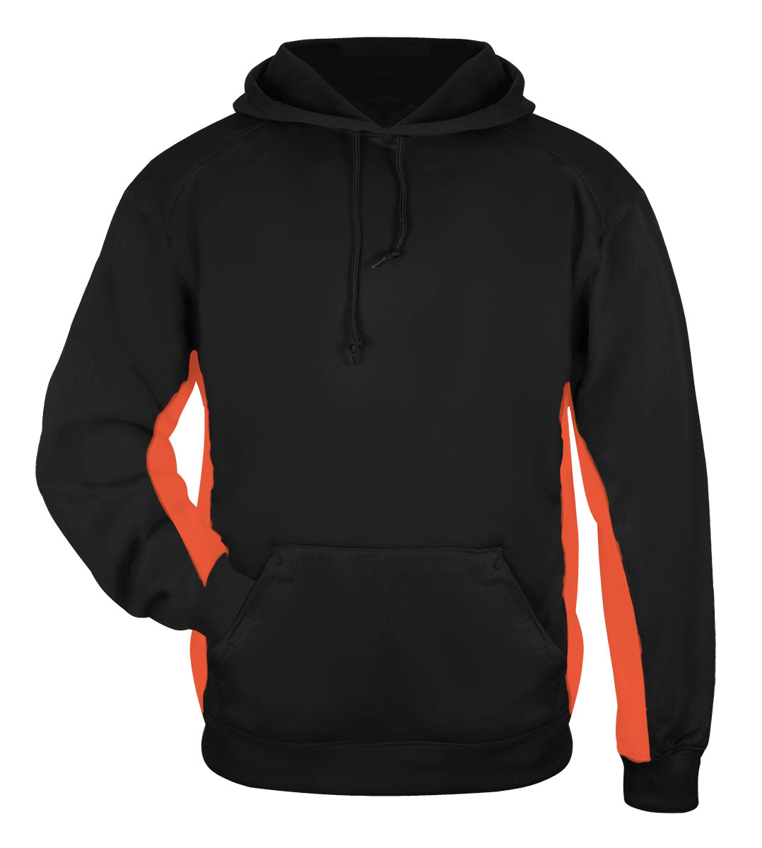 Badger Mens Performance Fleece Hooded Sweatshirt