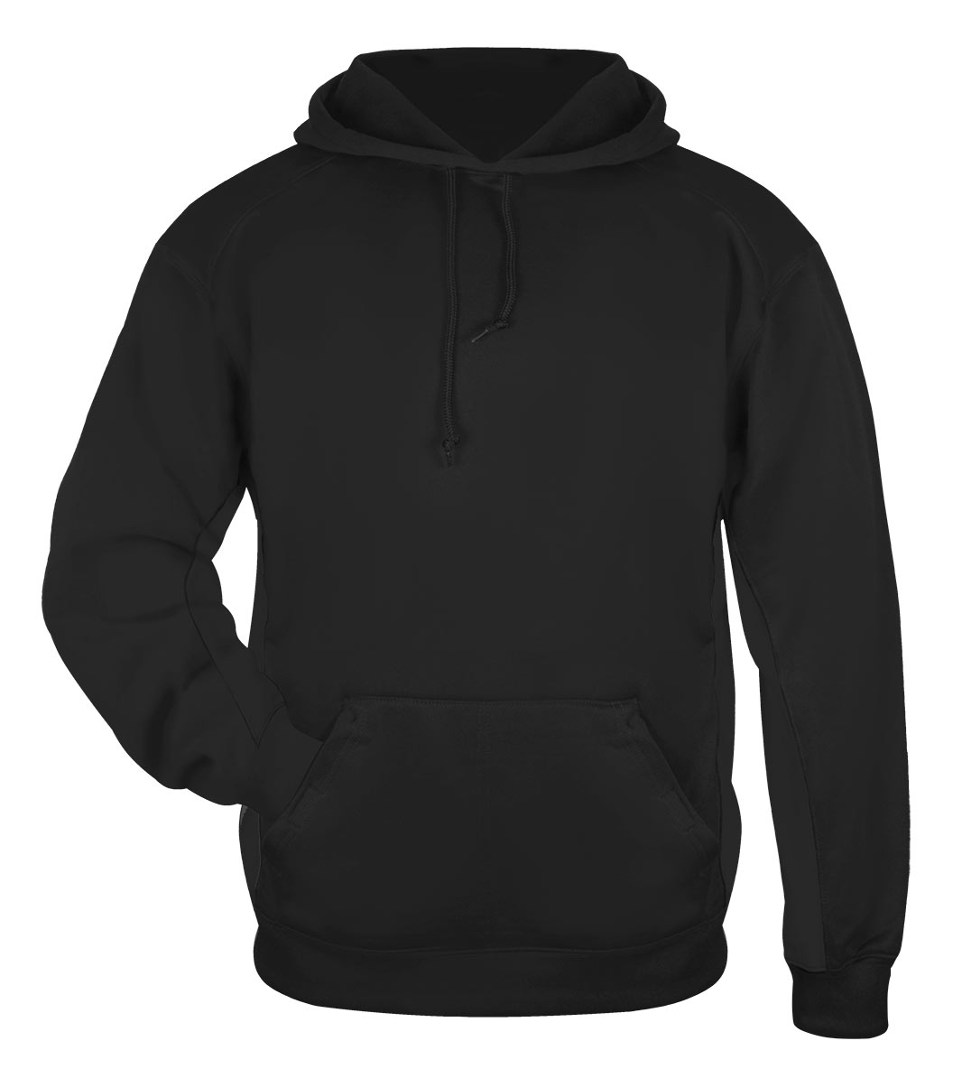 Badger Youth Moisture Management Hooded Sweatshirt