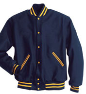 Custom Holloway Adult All Wool Letterman Jacket