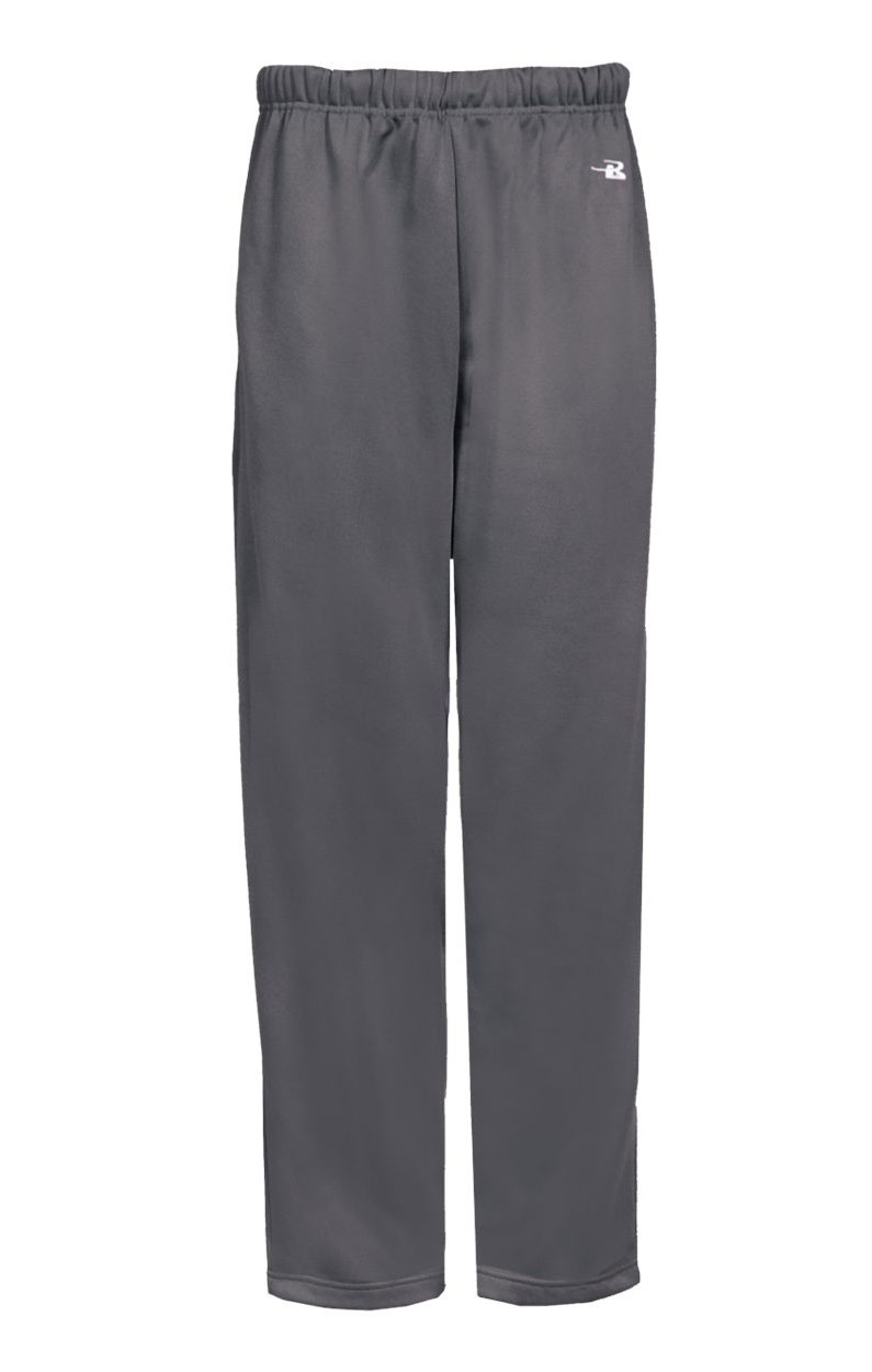Badger Youth Performance Fleece Open Bottom Pant