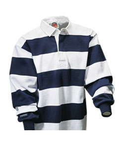 ce69d96bf8ea Long Sleeve Striped Custom Rugby Shirt - Design Online or Buy It Blank