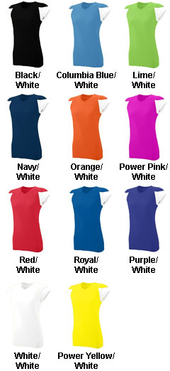 Girls MVP Moisture Wicking Jersey - All Colors