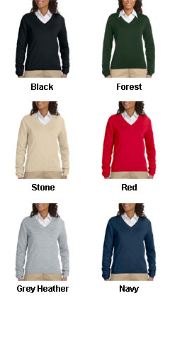 Ladies V-Neck Sweater - All Colors