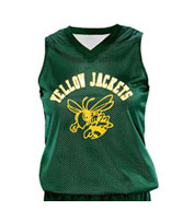 Custom Girls Fadeaway Reversible Basketball Jersey