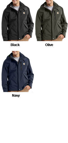 Carhartt Waterproof Breathable Jacket - All Colors