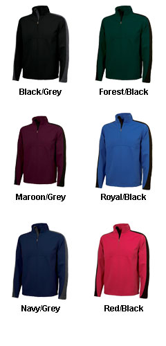 Adult Quarter Zip Wicking Pullover by Charles River Apparel - All Colors