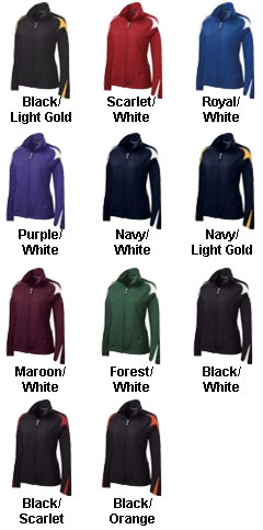 Ladies Illusion Warm Up Jacket by Holloway - All Colors