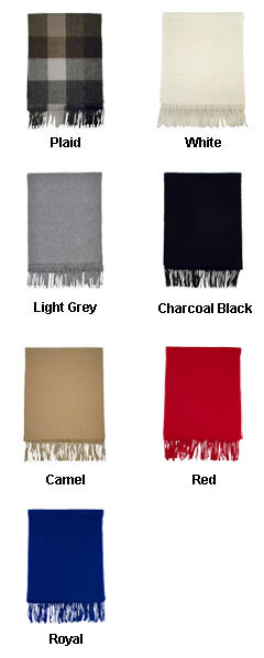 Luxurious Wool Scarf - All Colors