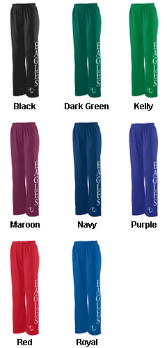 Girls Wicking Fleece Sweatpant - All Colors