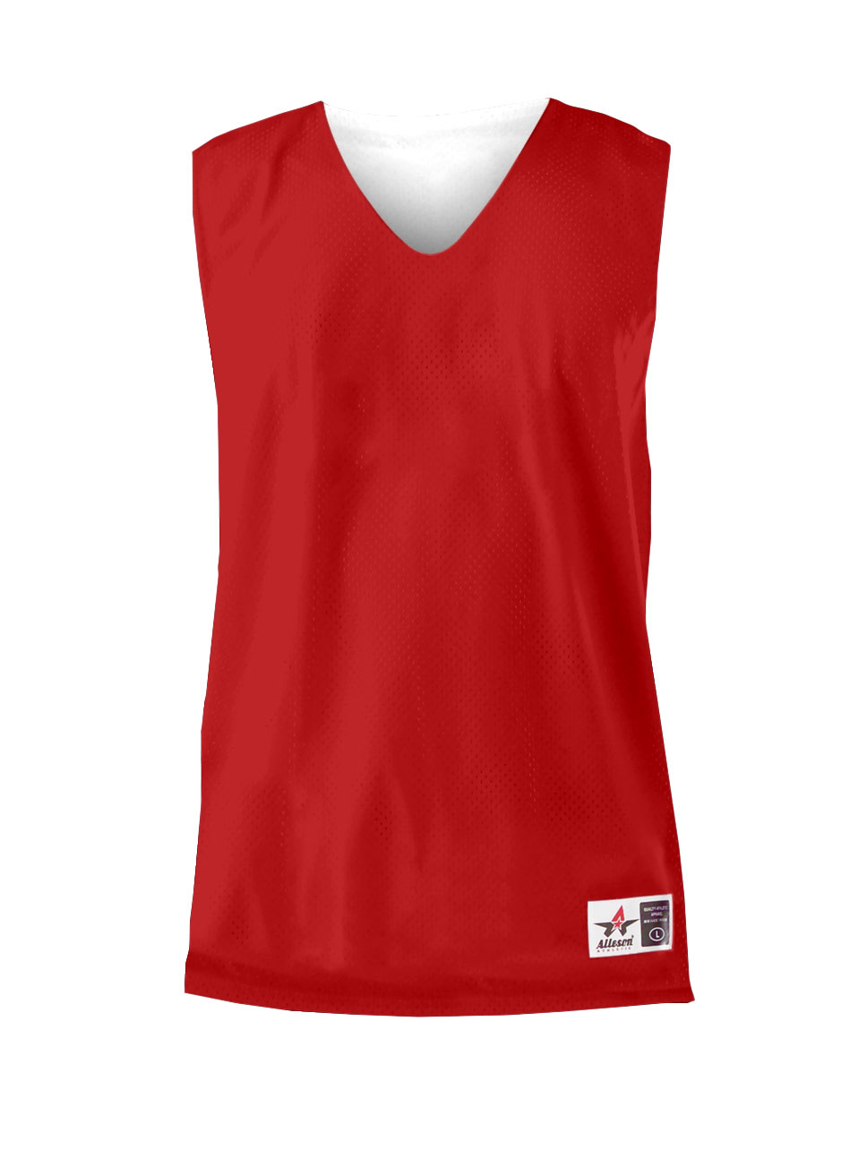226be55e8c3 Custom Youth Reversible Mesh Tank By Alleson - Available In 24 Colors