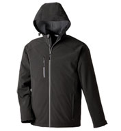 Custom North End Mens Prospect Soft Shell Hooded Jacket