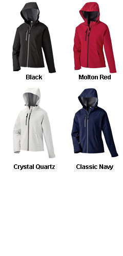 Ladies Soft Shell Jacket With Hood - All Colors