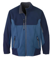 Custom North End Mens Compass Colorblock Soft Shell Jacket