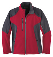 Custom Ladies Color-Block Soft Shell Jacket