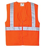 Custom CornerStone® Mens ANSI 107 Class 2 Safety Vest