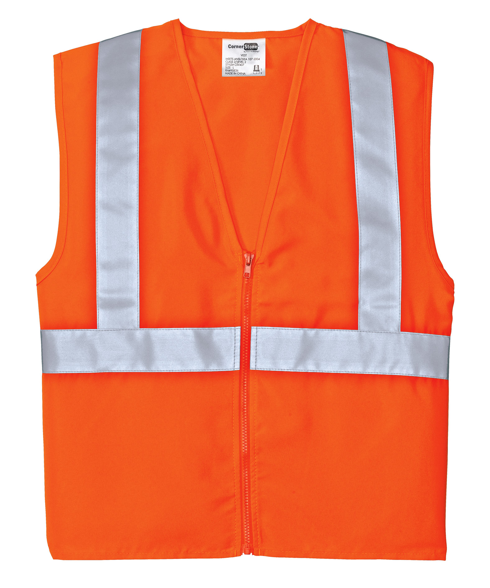 ANSI/ISEA Class 2 CornerStone High Visibility Adult Vest