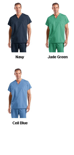 CornerStone Reversible V-Neck Scrub Top - All Colors