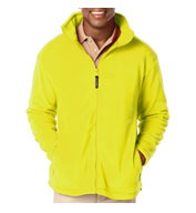 Mens Full Zip Polar Fleece Jacket