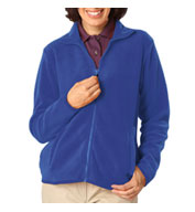 Ladies Full Zip Polar Fleece Jacket