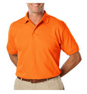 Custom ANSI Compliant, HI Vis Polo Shirt Mens