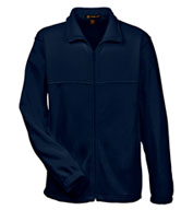 Custom Harriton Mens 8 oz. Full-Zip Fleece Jacket