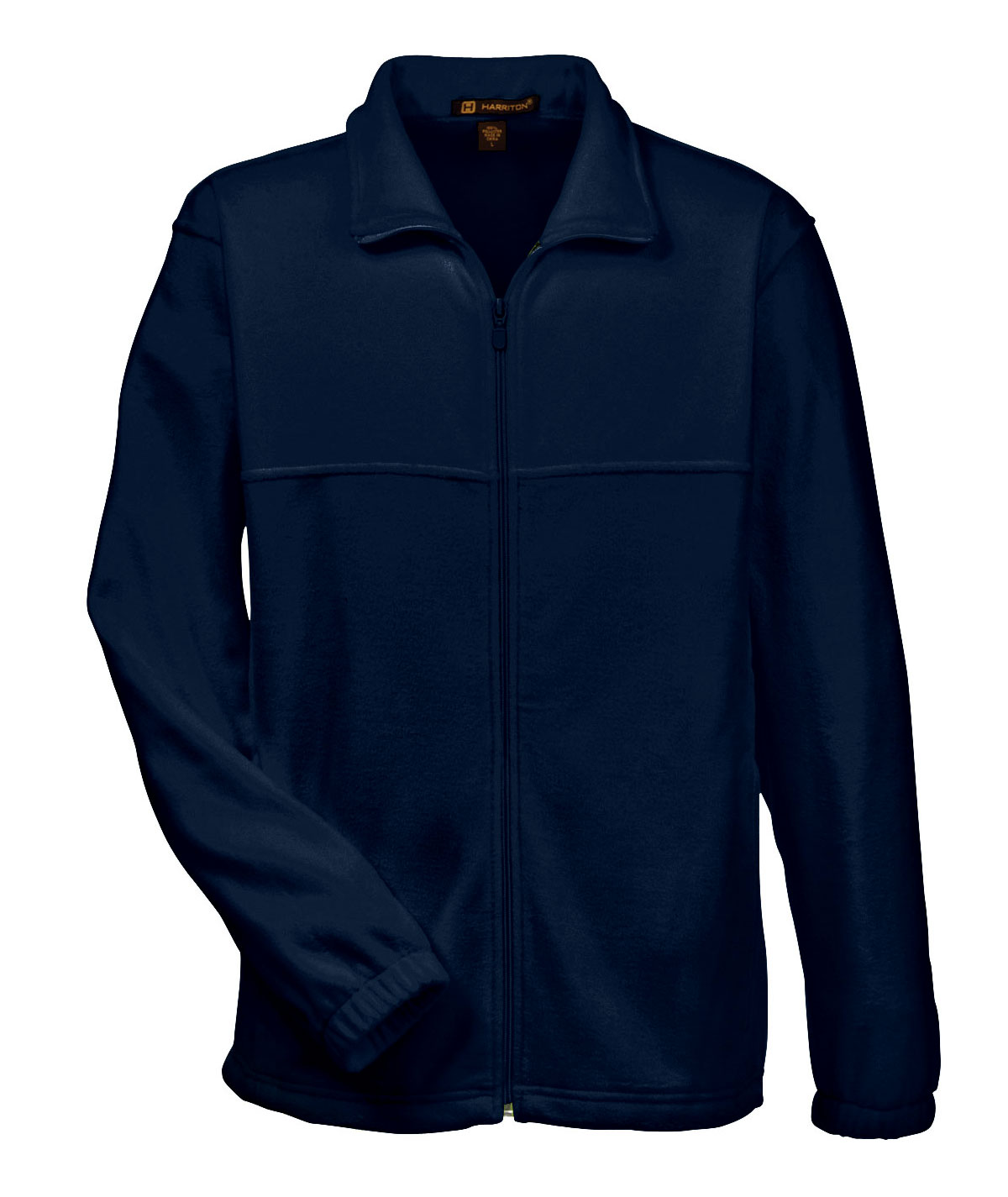Harriton Mens 8 oz. Full-Zip Fleece Jacket