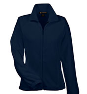 Custom Harriton Ladies 8 oz. Full-Zip Fleece