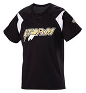 Adult Pickoff Two-Button Baseball Jersey