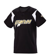Custom Youth Pickoff Two-Button Baseball Jersey