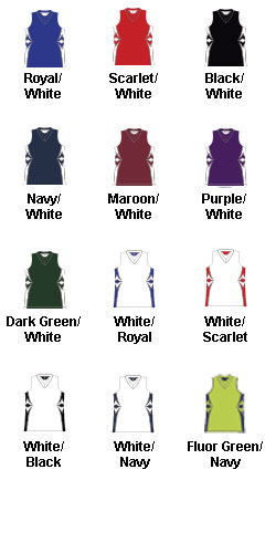 Girls Supernova Racerback Softball Jersey - All Colors