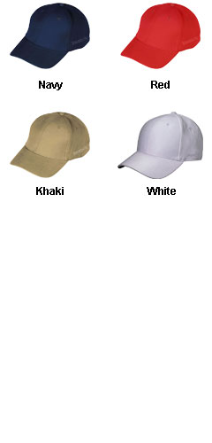 Reebok Fitted Twill Baseball Cap - All Colors