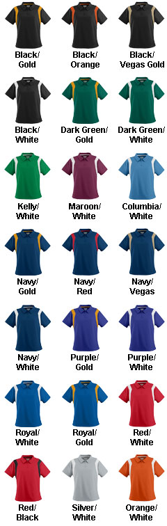 Ladies Wicking Textured Sideline Sport Shirt - All Colors