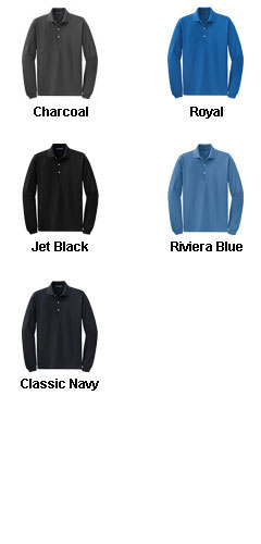 Rapid Dry™ Long Sleeve Polo - All Colors