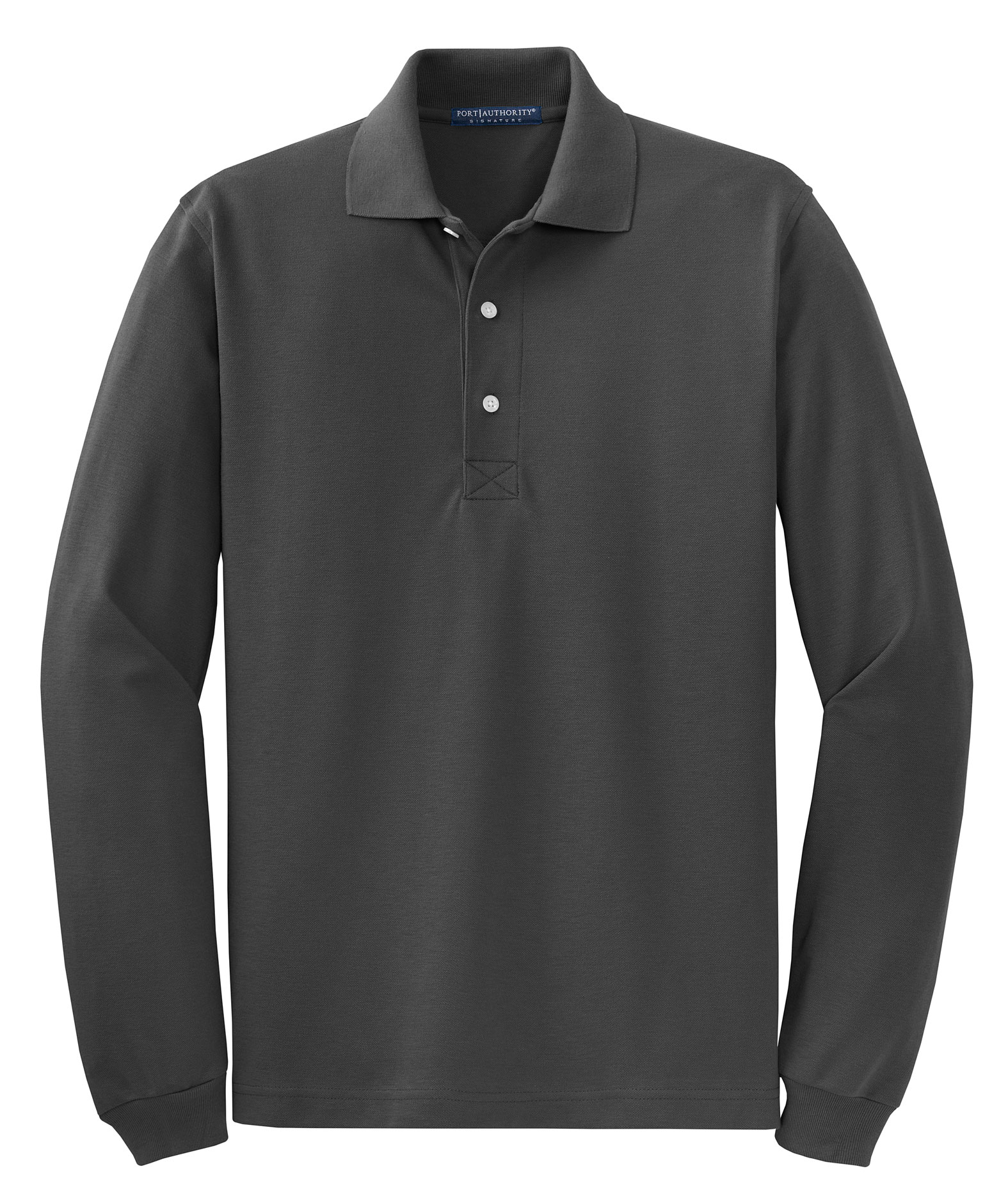 Port Authority® Mens Rapid Dry™ Long Sleeve Polo