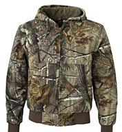 Custom Dri Duck Cheyenne Camouflage Canvas Work Jacket
