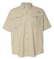 Custom Columbia Bahama II Short Sleeve Fishing Shirt