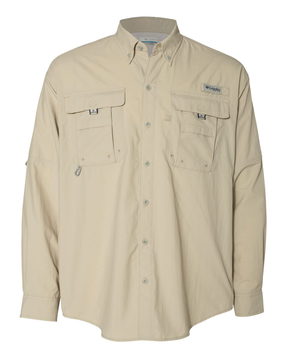 Columbia Bahama™ II Mens Long Sleeve Fishing Shirt