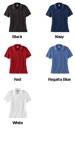 Brooks Brothers Ladies Short Sleeve Pique Polo - All Colors