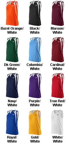 Womens Track Singlet - All Colors