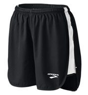 Womens Curved Side Panel Track Short