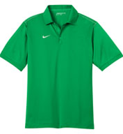 Nike Golf Mens Dri-FIT Sport Swoosh Pique Polo
