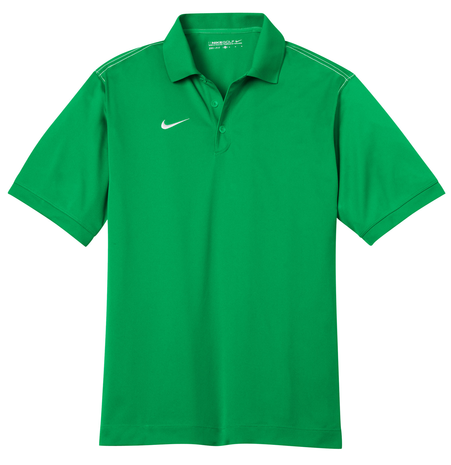 Custom Nike Golf Mens Dri Fit Sport Swoosh Pique Polo
