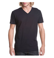 Custom Next Level Men's Premium Fitted Cotton Short-Sleeve V-Neck Tee