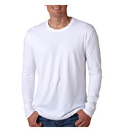 Next Level Mens Long-Sleeve Cotton Crew